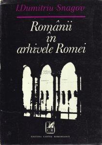 Romanii in arhivele Romei