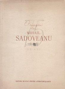 Omagiu lui Mihail Sadoveanu