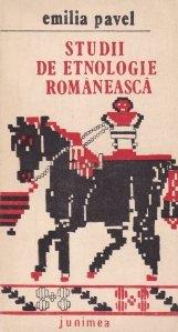 Studii de etnologie romaneasca