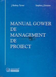 Manual Gower de management de proiect