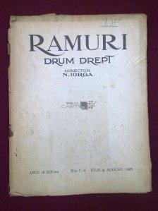Ramuri, Anul XIX. Nr 7-8