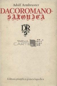 Dacoromano-Saxonica