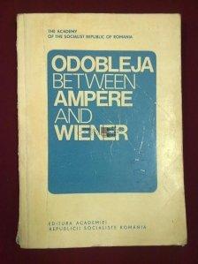 Odobleja between Ampere and Wiener