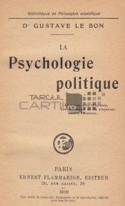 La Psychologie politique / Psihologie politica