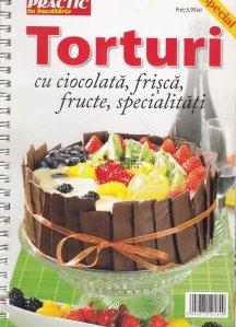 Torturi cu ciocolata, frisca, fructe, specialitati
