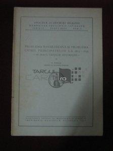 Problema basarabeana si problema unirii Principatelor la 1855-1859