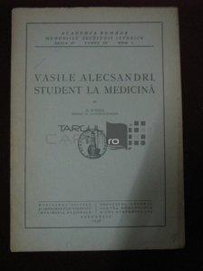Vasile Alecsandri, student la medicina
