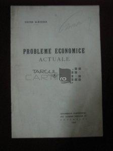 Probleme economice actuale