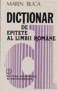 Dictionar de epitete al limbii romane