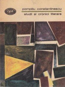 Studii si cronici literare