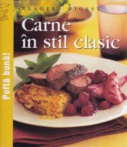 Carne in stil clasic