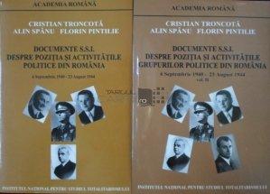 Documente S.S.I. despre pozitia si activitatile politice din Romania