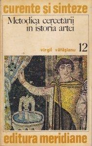 Metodica cercetarii in istoria artei
