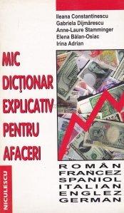 Mic dictionar explicativ pentru afaceri