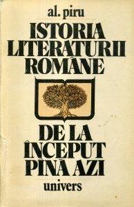 Istoria literaturii romane de la inceput pina azi