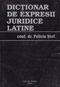 Dictionar de expresii juridice latine