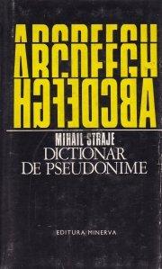 Dictionar de pseudonime