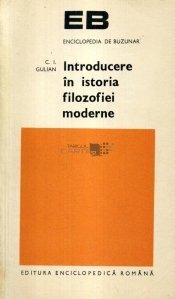 Introducere in istoria filozofiei moderne
