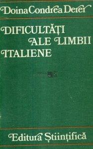 Dificultati ale limbii italiene