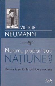 Neam, popor sau NATIUNE?