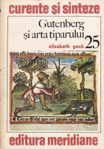 Gutenberg si arta tiparului
