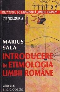 Introducere in etimologia limbii romane