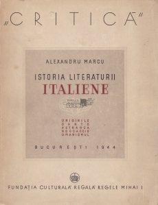 Istoria literaturii italiene