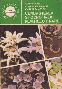 Cunoasterea si ocrotirea plantelor rare