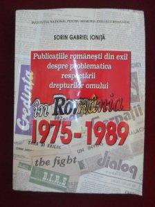 Publicatiile romanesti din exil despre problematica respectarii drepturilor omului (1975