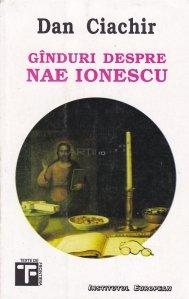 Ginduri Despre Nae Ionescu