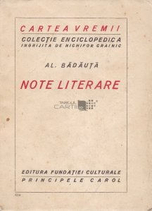 Note literare