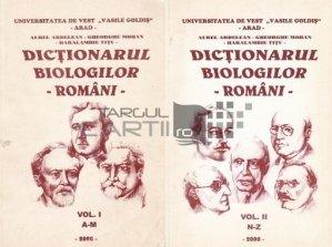 Dictionarul biologilor romani