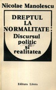 Dreptul la normalitate: