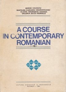 A Course In Contemporary Romanian