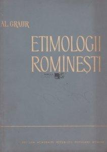 Etimologii rominesti