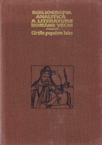 Bibliografia analitica a literaturii romane vechi