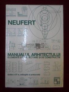 Manualul Arhitectului. Elemente De Proiectare Si De Constructie