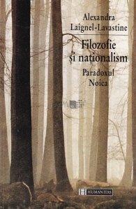 Filozofie Si Nationalism. Paradoxul Noica