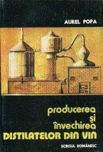 Producerea si invechirea distilatelor din vin