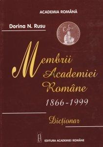 Membrii Academiei Romane 1866-1999