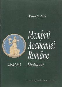 Membrii Academiei Romane 1866-2003