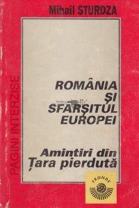 Romania si sfarsitul Europei