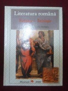 Literatura romana. Dictionar-Antologie de istorie si teorie literara