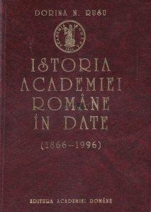 Istoria Academiei Romane in date