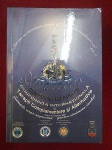Conferinta internationala  de terapii complementare si alternative. Compendiul lucrarilor
