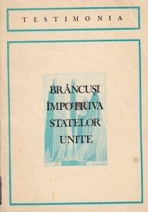 Brancusi impotriva Statelor Unite