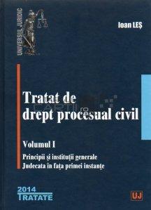 Tratat de drept procesual civil