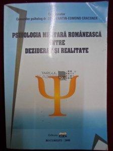 Psihologia Militara romaneasca intre deziderat si realitate