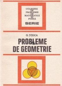 Probleme de geometrie