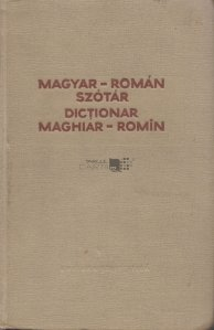 Dictionar maghiar-romin